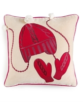Martha Stewart Collection CLOSEOUT! Martha Stewart Collection Winter and Animals Decorative Pillow Collection