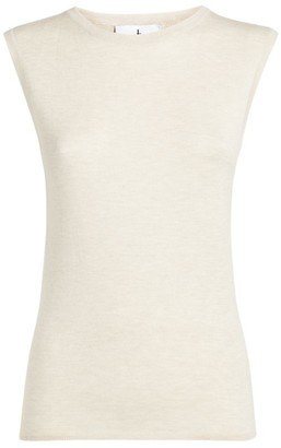 Lucan Cashmere-Silk Tank Top
