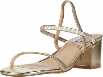 Steve Madden Women's Inessa Black Sandal 7.5 US