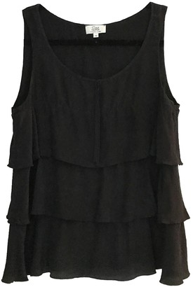 Pablo Black Silk Top for Women