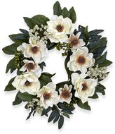 Bed Bath & Beyond Nearly Natural 22-Inch Magnolia Wreath