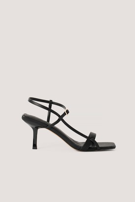 NA-KD Strappy Buckled Heels
