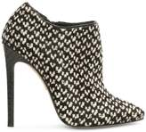 Gina Kenny Multicoloured Calf Hair Ankle Boot
