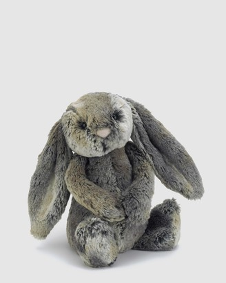 Jellycat Grey Animals Bashful Cottontail Bunny Medium - Size One Size at The Iconic