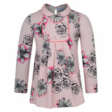 Versace Floral Pink Dress