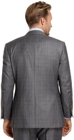 Brooks Brothers Madison Fit Hairline Plaid Sport Coat