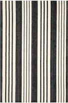 Dash & Albert Birmingham Woven Rug - Black - 122x183cm