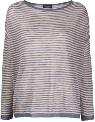 Roberto Collina striped print jumper
