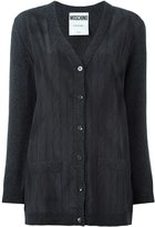 Moschino trompe-l'oeil cardigan - women - Silk/Virgin Wool/Cashmere - 40