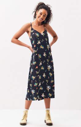 RVCA Maddox Midi Slip Dress
