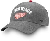 Women's Fanatics Branded Black Detroit Red Wings Chambray Fundamental Adjustable Hat