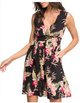 Roxy Floral Keyhole Dress