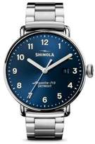Shinola The Canfield Chronograph Stainless Steel Bracelet Watch