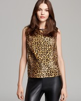 Milly Top - Cheetah Shell