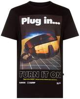 Blood Brother Plug In Print T-shirt