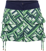 Carven Carreaux Printed Shorts