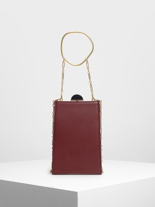 Charles & Keith Circle Top Handle Clutch
