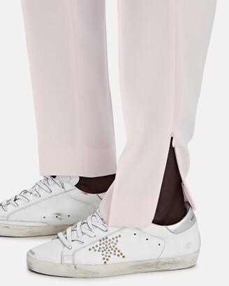 ADEAM Dahlia Pleated Crepe Trousers