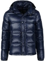 Blauer Down Jacket Blu Baltico