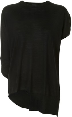 Y's asymmetric lightweight T-shirt