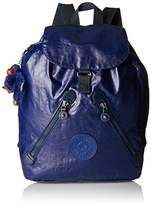 Kipling Fundamental, Women's Backpack, Blau (Lacquer Indigo), 42x42x16.5 cm (B x H T)