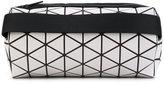 Bao Bao Issey Miyake geometric print cylinder clutch - women - Nylon/Polyester/Polyurethane/Brass - One Size