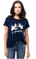 Sub Urban Riot Suburban Riot Go Glamping Loose Tee in Midnight Navy