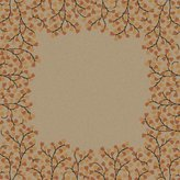 """Surya 9'9"""" X 9'9"""" Round Area Rug Ath5118-99rd Birch Color Hand Tufted In India """"athena Collection"""" Solid Pattern"""