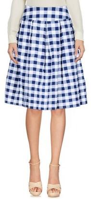 Rose' A Pois Knee length skirt