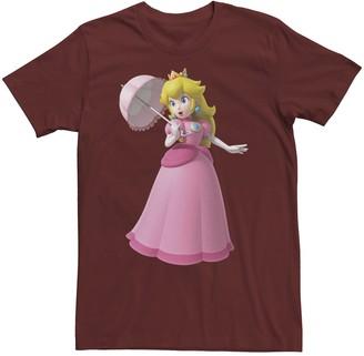 Nintendo Men's Princess Peach Portrait Tee