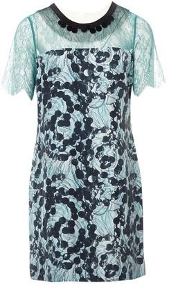 Clements Ribeiro Blue Silk Dress for Women