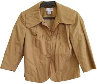 Ungaro Camel Cotton Jackets