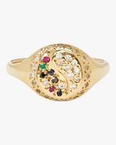 Yin & Yang Scosha Yin Yang Pave Signet Ring