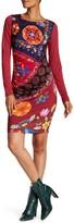 Desigual Abstract Designed Bodycon Dress