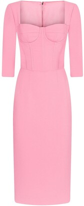 Dolce & Gabbana Bustier Pencil Dress