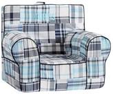 Pottery Barn Kids Navy & Aqua Madras Anywhere Chair ®
