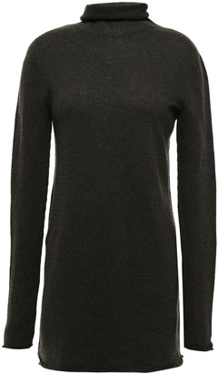 Agnona Melange Cashmere Turtleneck Sweater