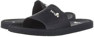 Sanuk Beachwalker Slide (Black) Men's Slide Shoes
