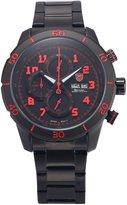 Shark Men's Chronograph Day Date Stainless Steel Sport Analog Quartz Wrist Watch SH311