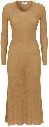 Lanvin Long Lurex Dress