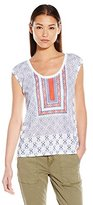 "Jessica Simpson Women's ""Lavi"" Split Back Tee"