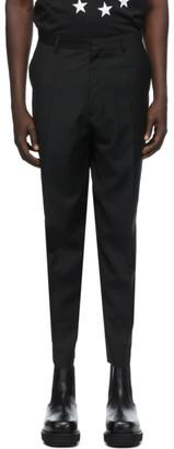Études Black Wool Revolte Trousers