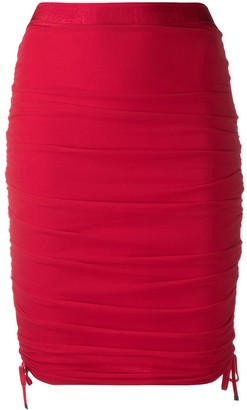 Wolford Juno fitted ruched skirt