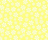 Graco SheetWorld Fitted Pack N Play Square Playard) Sheet - Pastel Yellow Floral Woven - Made In USA - 36 inches x 36 inches ( 91.4 cm x 91.4 cm)