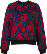 Etro floral jacquard sweatshirt