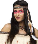 Fun World Costumes Fun World Bead & Feather Native Headband Adult