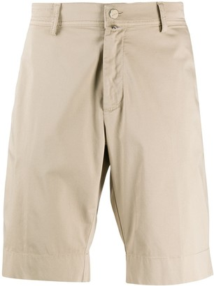 Kiton Slim-Fit Chino Shorts