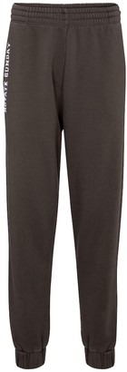 Rotate by Birger Christensen Mimi logo cotton jersey trackpants