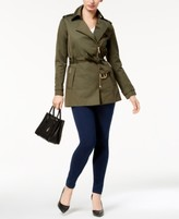 Michael Kors Michael Belted Trench Coat