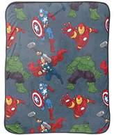 "Marvel Avengers Silk Touch Comfy Throw, 46"" x 60"""